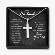 To My Husband 30 Year 30th Wedding Anniversary Gift, For Husband From Wife Gift