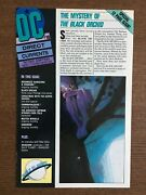 Dc Direct Currents 10 1988 Dc Comic Book 1st Appearance Of Sandman
