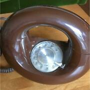 Donut Phone 70's Western Electric Sculptura Dial Type Extremely Rare Antique Fs