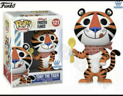 Tony The Tiger Funko Shop Exclusive Kelloggs Frosted Flakes Retro Pop With Spoon
