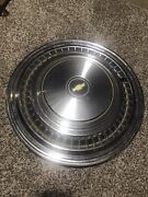 2 Vintage 73-87 Chevrolet Chevy Suburban 4x4 Truck Hubcaps Wheel Covers 16 In.