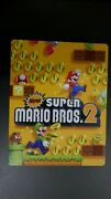 New Super Mario Bros 2 Game And Steelbook Nintendo 3ds 2012
