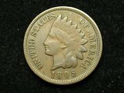 Summer Sale Xf+ 1895 Indian Head Cent Penny W/ Diamonds And Full Liberty 92