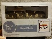 Trend Lab Northwoods Musical Mobile For Baby Crib With Bears Brahms Lullaby