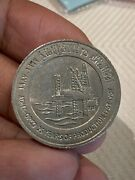 One Dirham Coin Of United Arab Emirates Commemorating 25 Year Of Production Adma