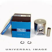 Wsm 50-210-05 Atv 2-stroke Piston Kit With Rings Wrist Pin And Circlips - 50 Mm