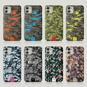 Tirita Case For Iphone 11 12 7 8 Se X 6s Xr Military Camouflage Camo Pattern
