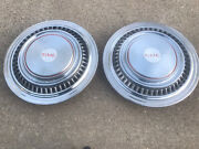 2 Vintage 73-87 Gmc Jimmy Suburban 4x4 Truck Hubcaps Wheel Covers 16 In.