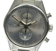 Tag Heuer Carrera Car2013-0 Chronograph Date Gray Dial Automatic Menand039s_615528