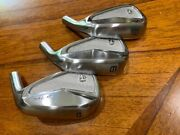 Rh Taylormade P7mc 89pw Iron Heads Only- Shaft Your Own Free Ship