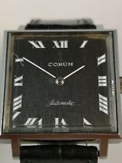 Corum Watch. Admiraland039s Cup Collection Steel Square Shaped Case Automatic Movim