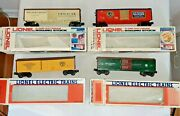 Vintage Lionel O/o27 Freight Cars W/ Original Boxes Lot Of 4 5703 7706 5713 7