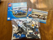 Lego City Helicopter And Limousine 3222 Pre-owned 100 Complete Checked No Box