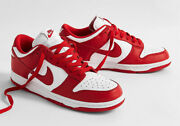 ✅ Size 8m/9.5w - Nike Dunk Low University Red In Hand Ready To Ship ✅