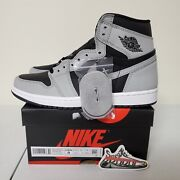 Free Shipping In Hand Air Jordan 1 Retro High Og Shadow 2.0 Menand039s 555088-035