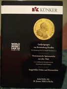 Kunker Coin Auction 331 Berlin 2020 New Hardcover Edition