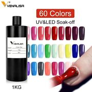 Venalisa Canni 1kg Soak Off Uv Led Gel Salon Bulk Wholesale Gel Nail Polish 1l