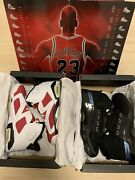 Air Jordan Countdown Pack 17/6 Collezione Size 44 New