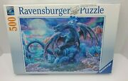Ravensburger Mystical Dragons 500 Piece Puzzle - Brand New Sealed - Ships Fast