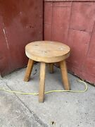 Primitive Vintage Amish Style Table Coffee Bench Porch Rustic Maple Farmhouse