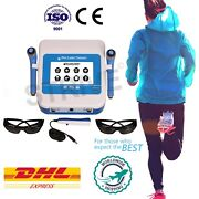 Best Red And Ir Diode Laser 650nm And 980nm Pain Relief Machine With 120 Programs