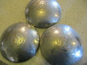 Three Willys Overland Dogdish, Poverty Hubcaps 8.25 / Ratrod