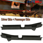 2x Mid Frame Rust Repair Kit W/ Spring Mount For 96-04 Toyota Tacoma Regular Cab