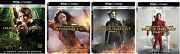 The Hunger Games Complete 4k 4-film Collection Blu-ray Digital Brand New 1 2 3 4