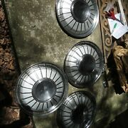 1962 Ford Thunderbird Wheel Covers Hubcap. Oem Great Condition Set Of 4 T-bird
