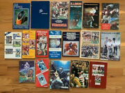 College Football Lot Of 18 Media Guides Penn State+michigan+usc+stanford+more