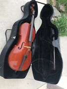 Amatiandrsquos Fine Instruments Concert 201863 4/4 Cello Outfit With Case Bow Stand