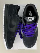 Nike Dunk Low By You 365 Black/white/purple Womenand039s Size 6 / 4.5y In Hand