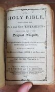 1803 Kjv Holy Bible Boston Early Isaiah Thomas Leather Psalms Old New Testament