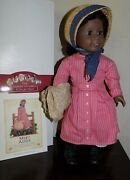 Retired Pre Mattel Pleasant Co Addy American Girl Doll In Box W Meet Outfit Hat