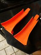 Hot Wheels Red Line Vintage 1968 Mid-century Rare Set Of 2 Track Jumps Red