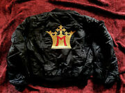 Madonna Blond Ambition Tour Dancer And Band Only Monogrammed Crown Jacket Promo M