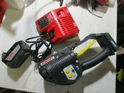 Fromm P329 Battery Powered Plastic Strapping Tool 1 Battery 18vdc 5.0 Ah Charger