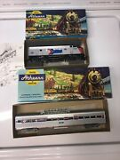 Athearn Amtrak Powered F7a Locomotive 157 And 9354 Vista Dome Ho Scale