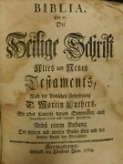 1763 Rare German Bible Printed By Christopher Saur-1st Bible With American Paper