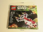 Star Wars Lego Toy Building Kit Republic Frigate 30242 45 Pieces Ages 6-12 New