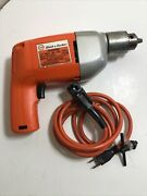 Vintage Black And Decker 7230 Vsr 1/2 Corded Electric Drill