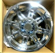 4 Set Tuscany 20x9 0mm 8x180 Chrome 124.2mm New Wheels Closeout Special