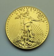 2008 1 Oz.gold Gold American Gold Eagle 50 Coin Superb Brilliant Uncirculated