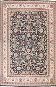 Vegetable Dye Aubusson Chinese Floral Oriental Area Rug Wool Hand-knotted 9x12