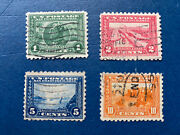Us Stamps-sc 401 - 404 - Pan Pacific Expo - Used - Scv = 97.50