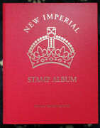 Br. Empire Colln - New Imperial Album Vol1 Mint And Used Stamps1840-1936 Ma16