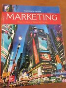 Marketing Hard Cover/13th Edition/roger Kerin And Steven Hartley Copyright 2017