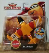 New Disney Pixar Planes Fire And Rescue Lil Dipper Deluxe Size Rare