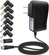10w 5v 2a 7 Multi Tip Ac Power Adapter Wall Charger For Android Tv Box/leappad 2