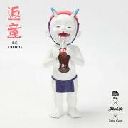 Poplife X Zeen Chin Re Child Drink Cocacola Little Monster New Limited Hot Toy